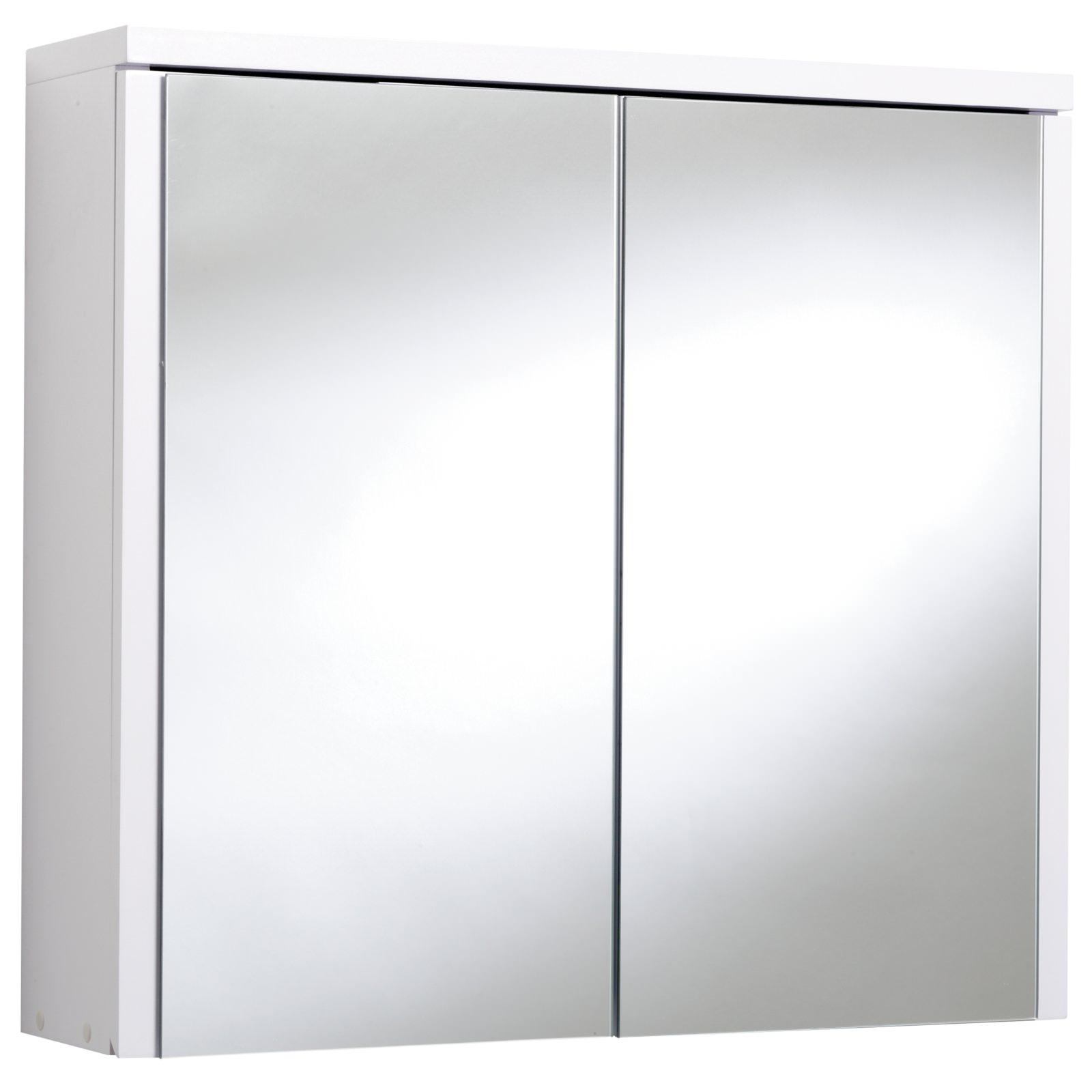 Croydex Swivel Double Door Bi-View White MDF Cabinet