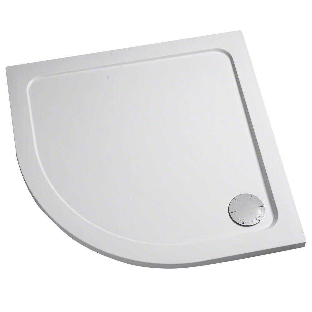 MN AQ 46213 Mira Flight Safe 900 X 900mm Quadrant Shower Tray With Waste7511
