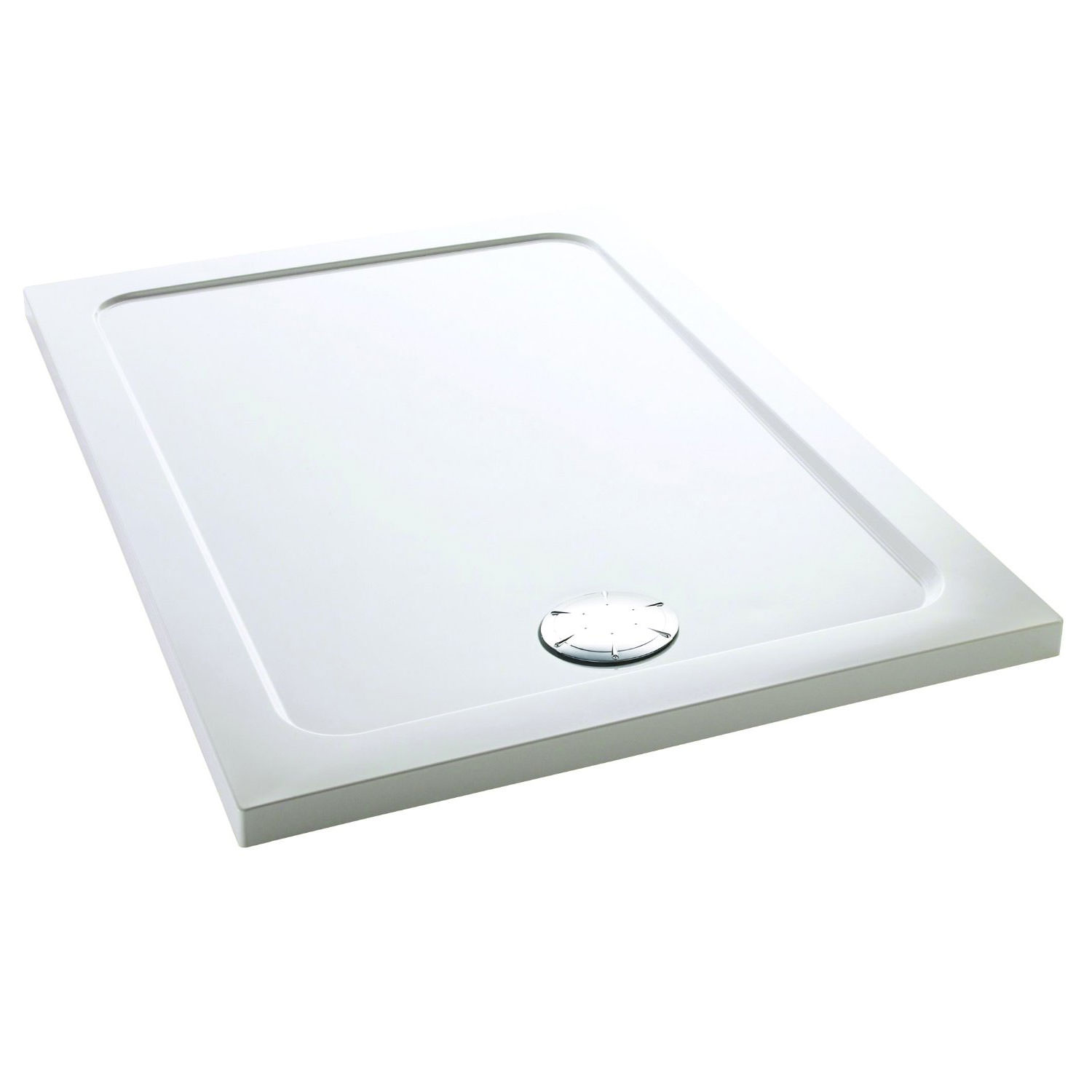 Mira Flight Low Rectangle Shower Tray 1200 X 700mm With Waste