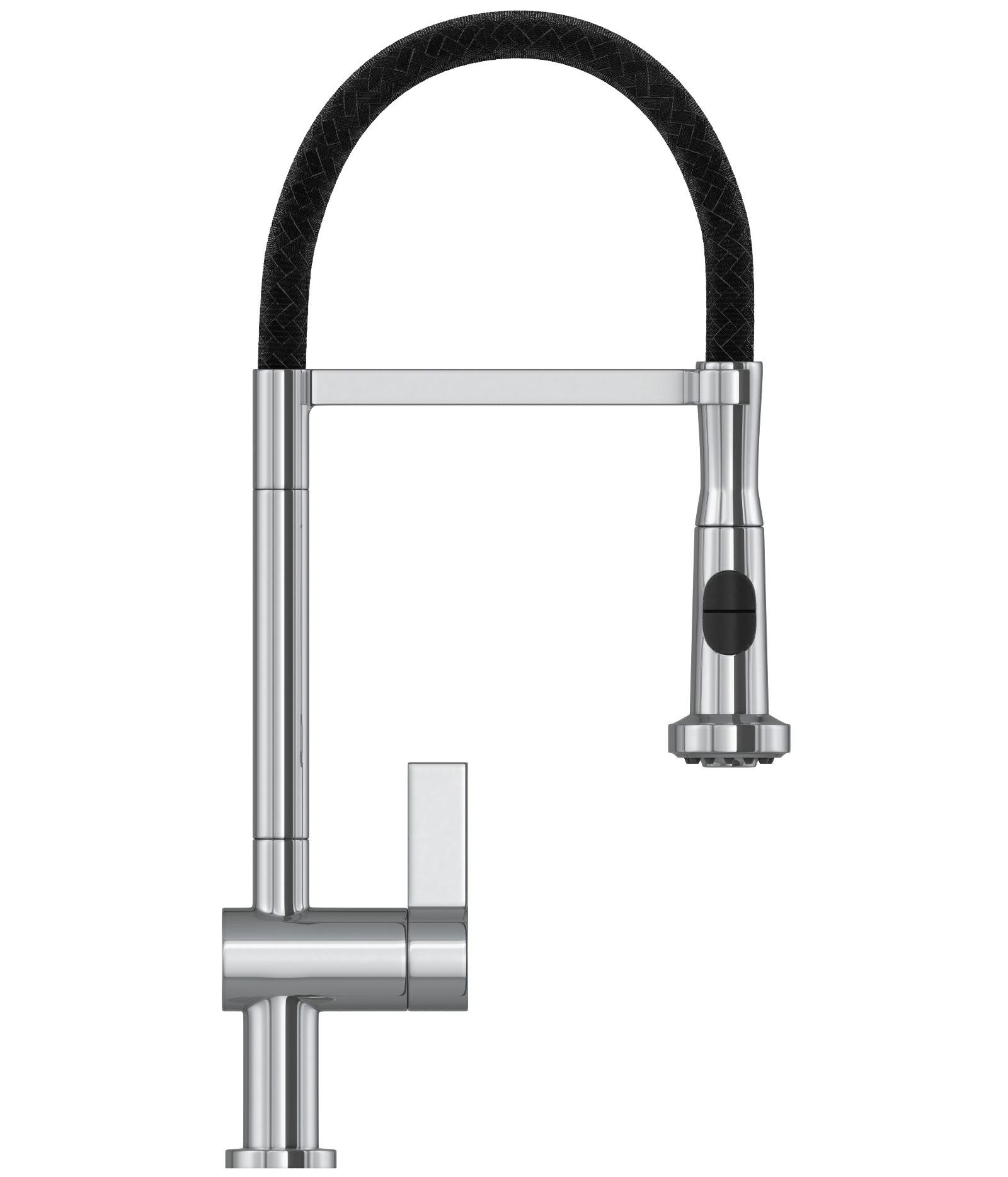 Sirino Pull-Out Spray - Chrome Kitchen Sink Mixer Tap