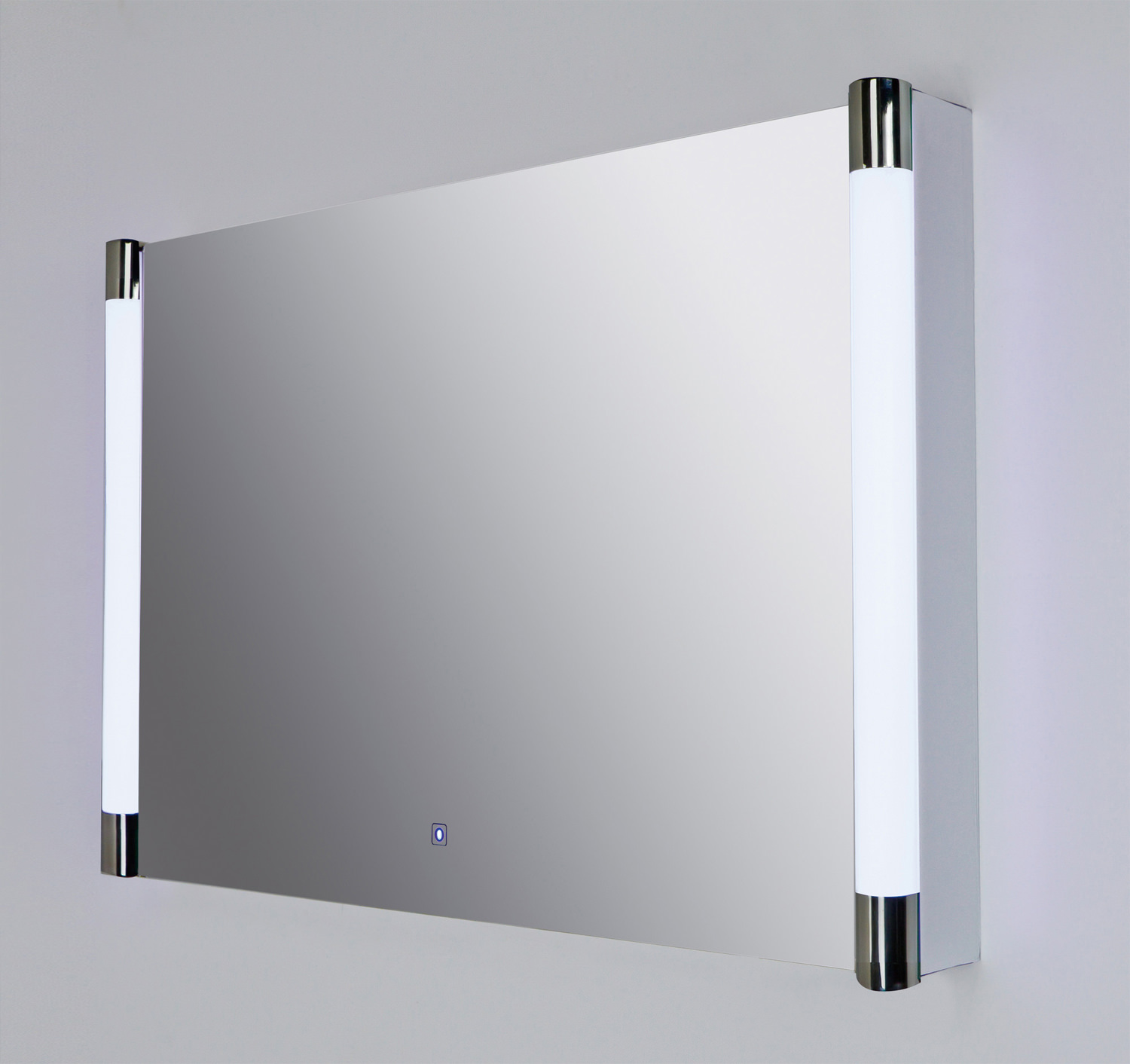 RAK Lucido 775 x 500mm Silver Framed Bathroom Mirror