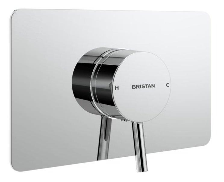 Bristan Prism Thermostatic Recessed Single Control Shower Valve