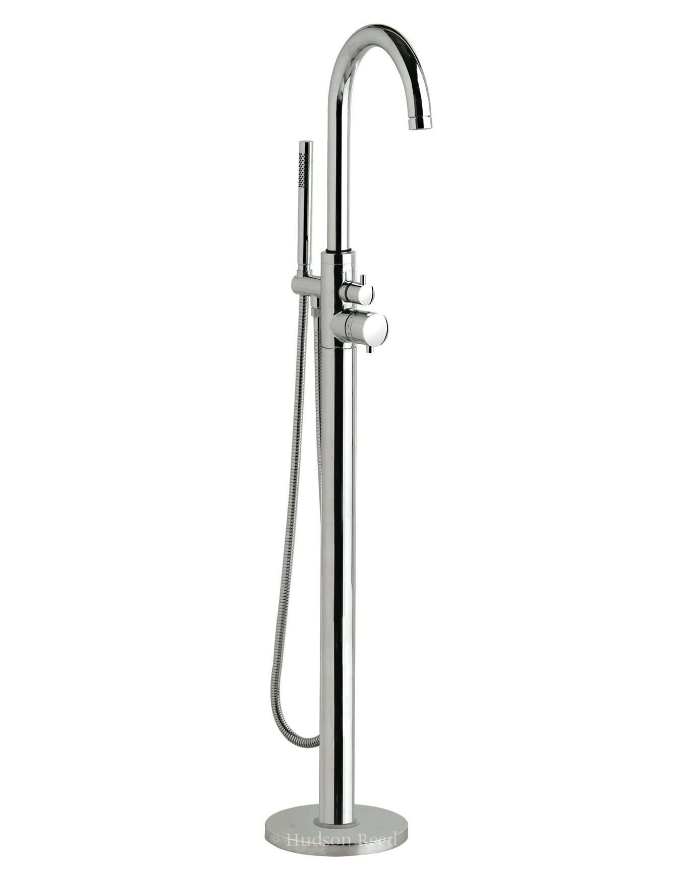 Hudson Reed Thermostatic Single Lever Mono Bath Shower Mixer Tap