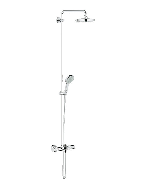 grohe spa power and soul cosmopolitan shower set with bath. Black Bedroom Furniture Sets. Home Design Ideas