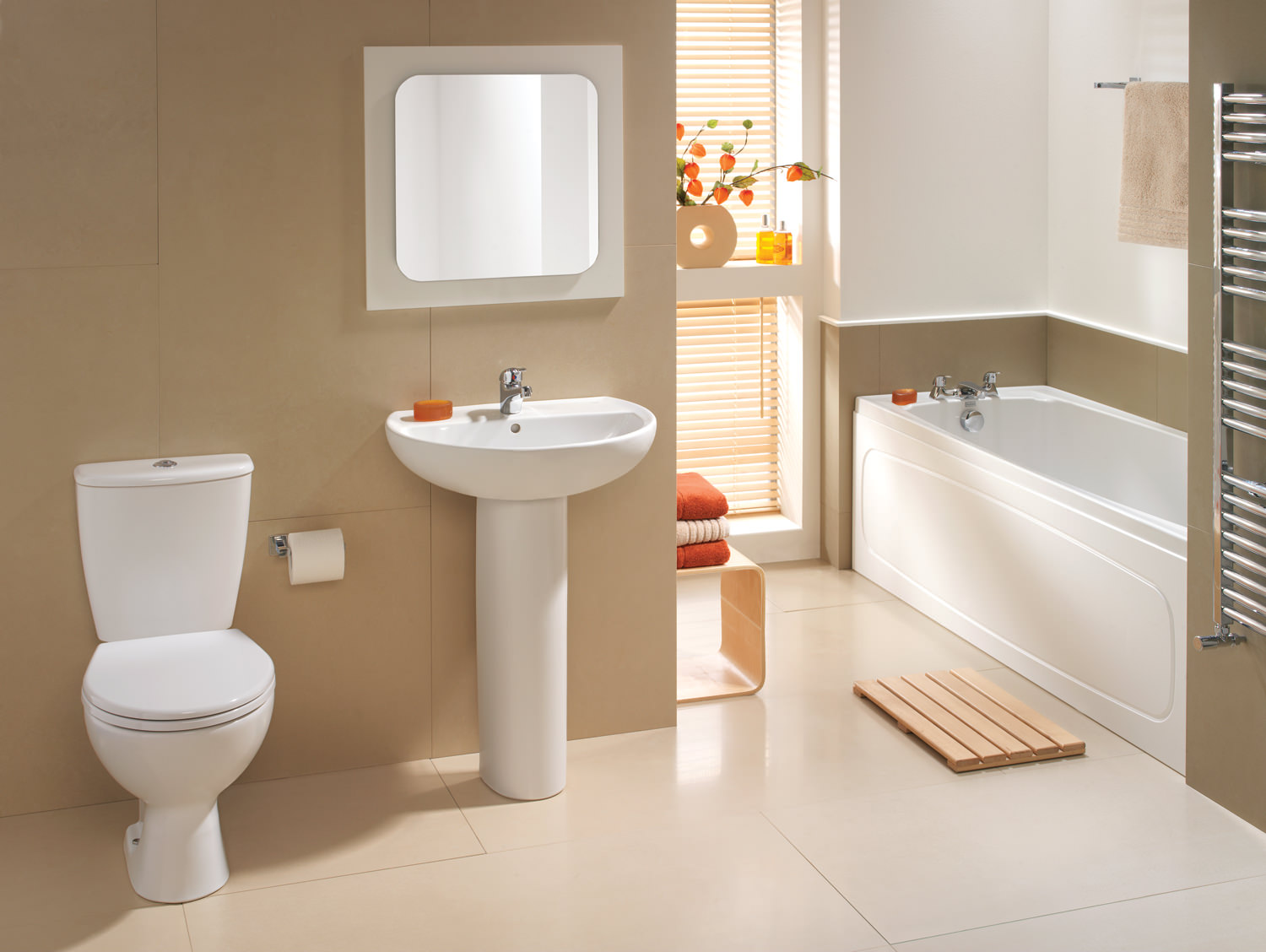 White bathroom suite for Bathroom suites