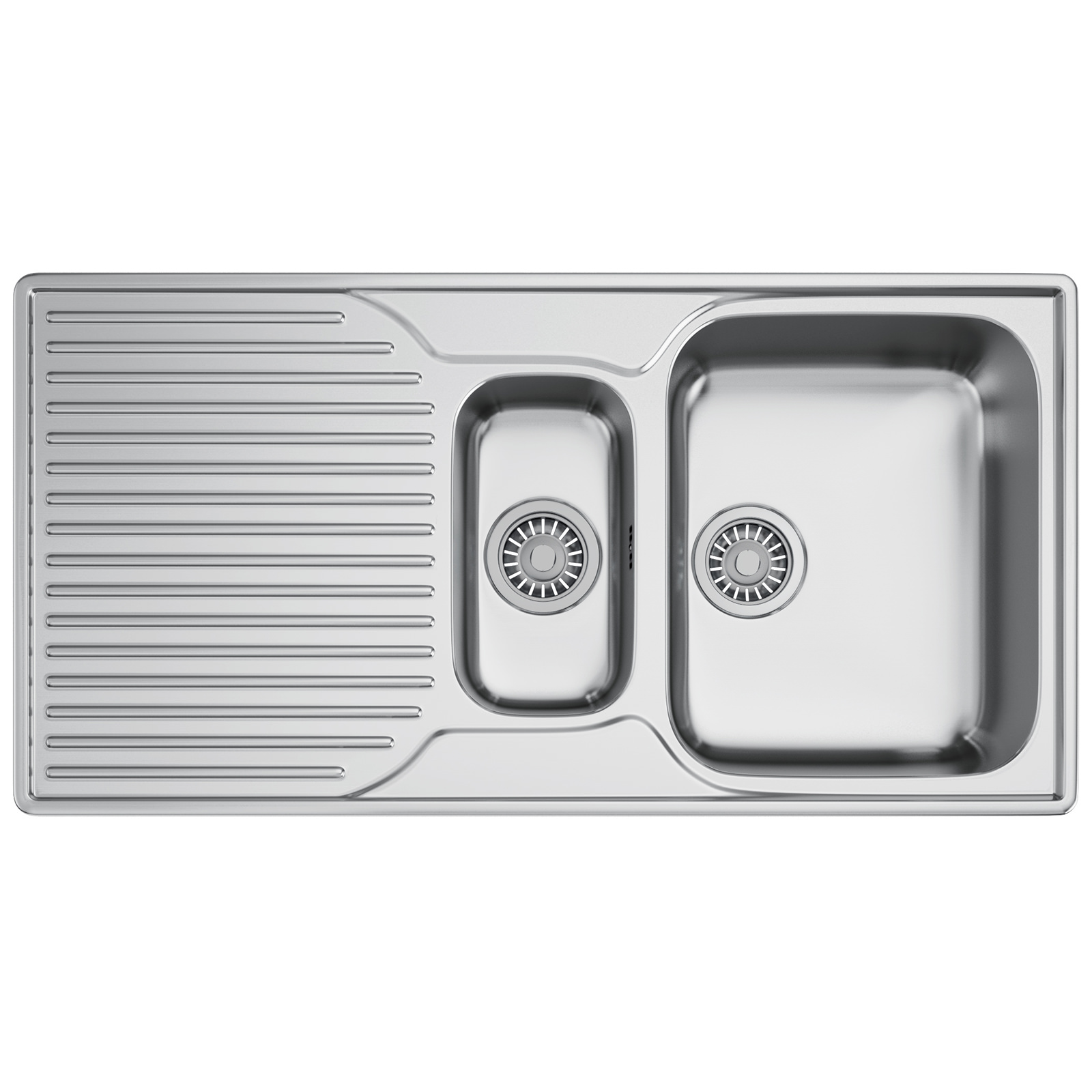 Franke Ariane ARX 651P Stainless Steel LHD 1.5 Bowl Inset Sink