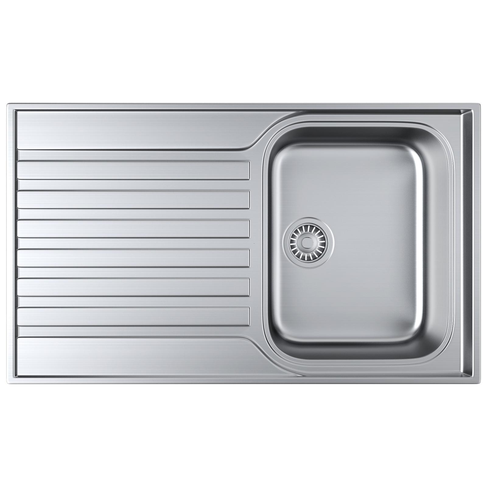 franke ascona asx stainless steel inset sink