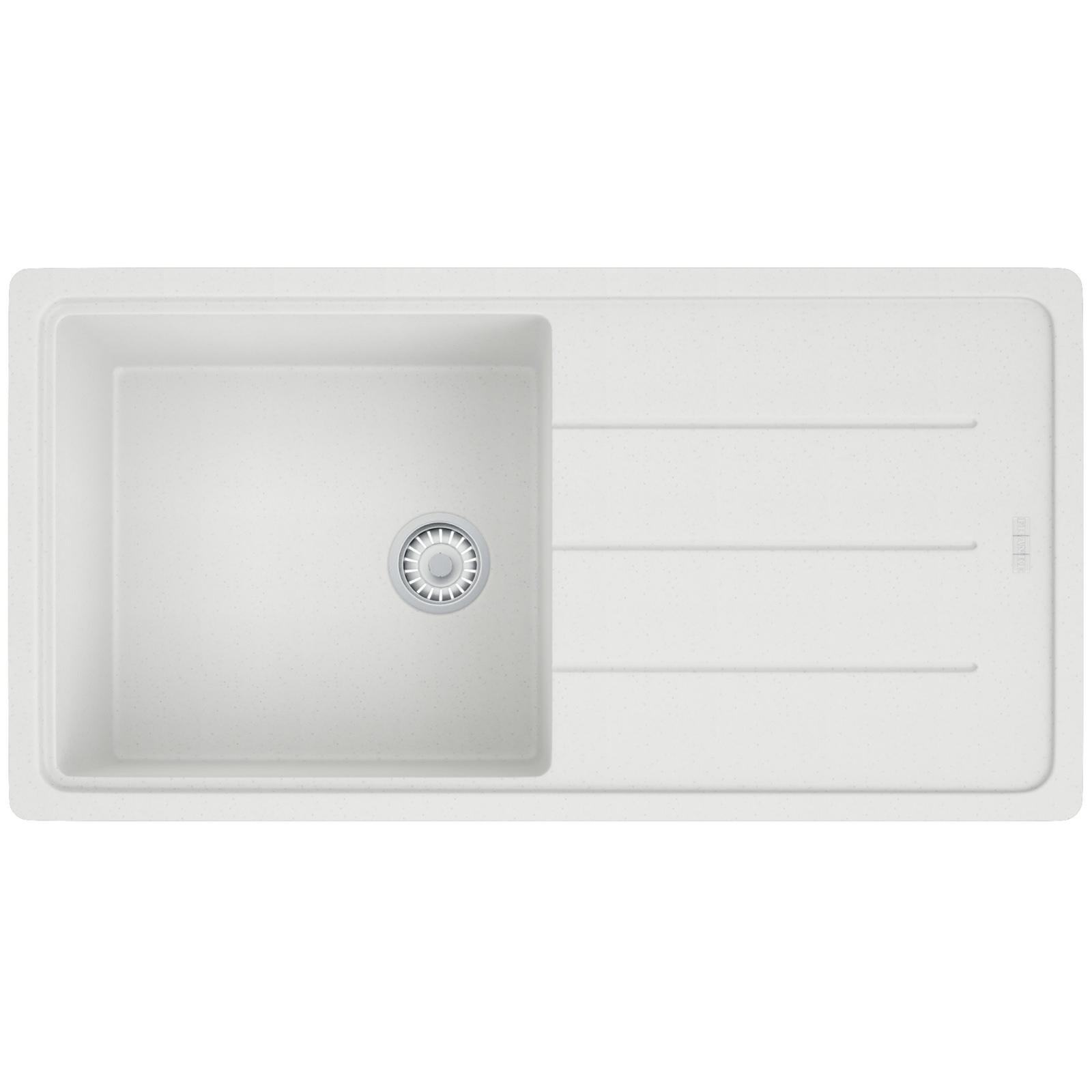 Superior Franke Basis BFG 611 970 Fragranite Polar White Inset Sink