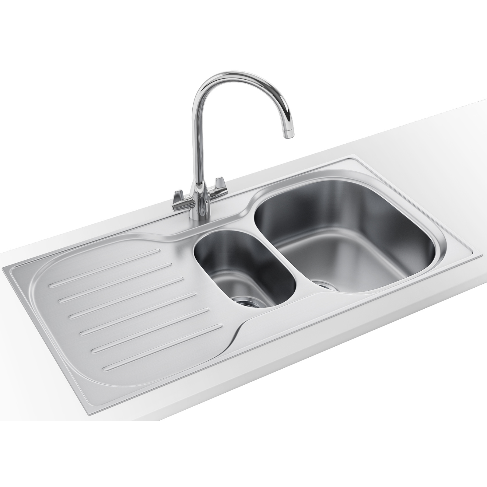Franke Compact Plus Crx P 651 Dp Stainless Steel Sink