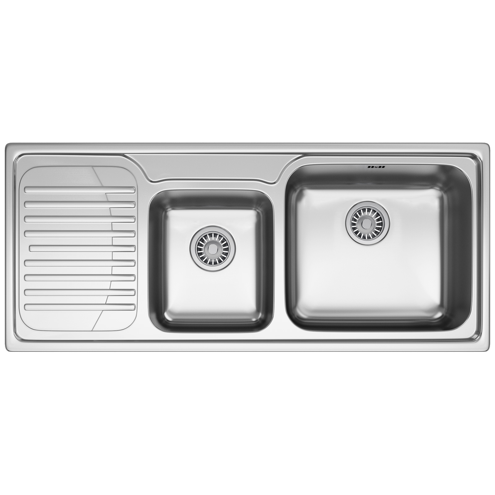 Franke Galassia GAX 621 Stainless Steel LHD 1.5 Bowl Inset Sink