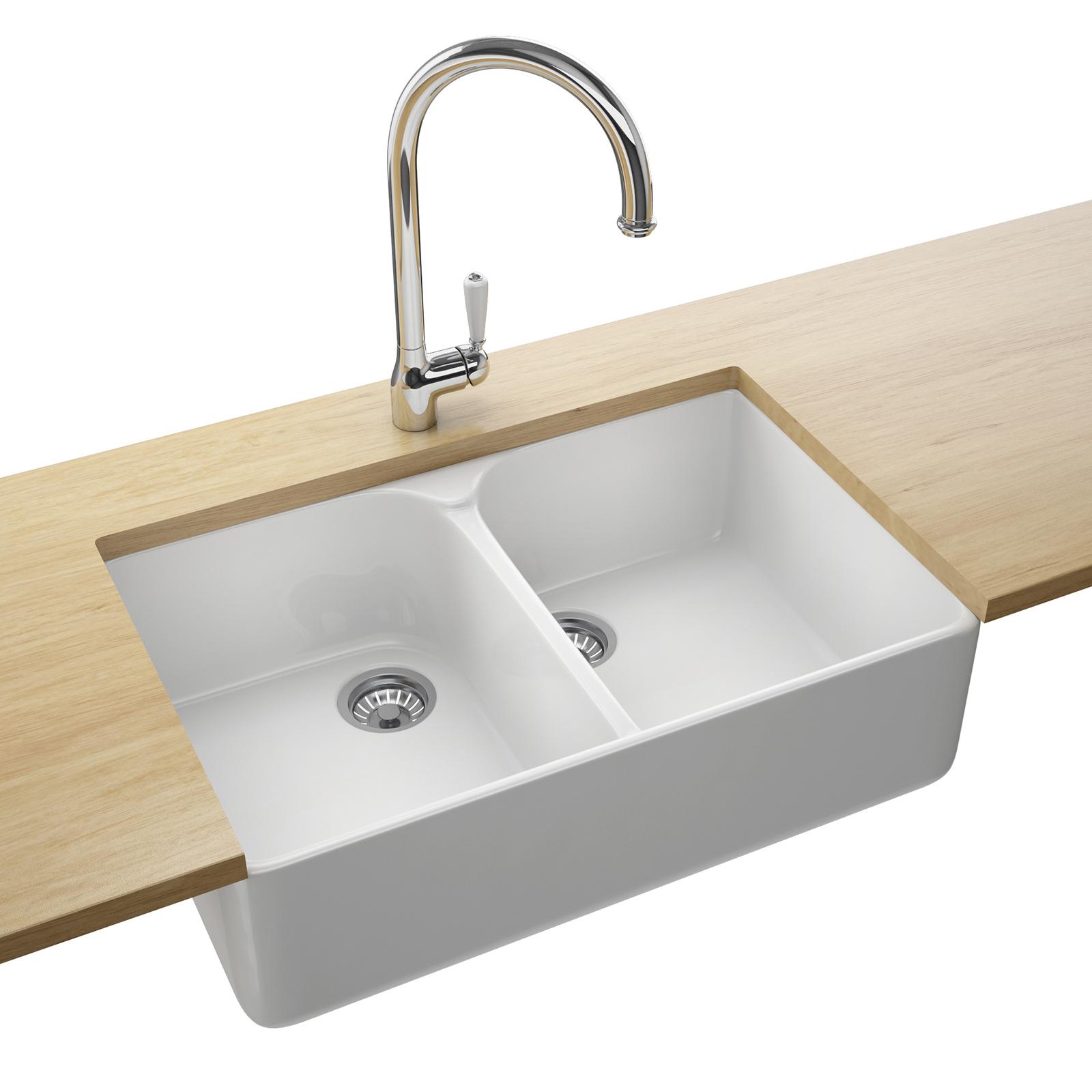 Franke Belfast VBK 720 Designer Pack-Ceramic 2.0 Bowl Sink And Tap