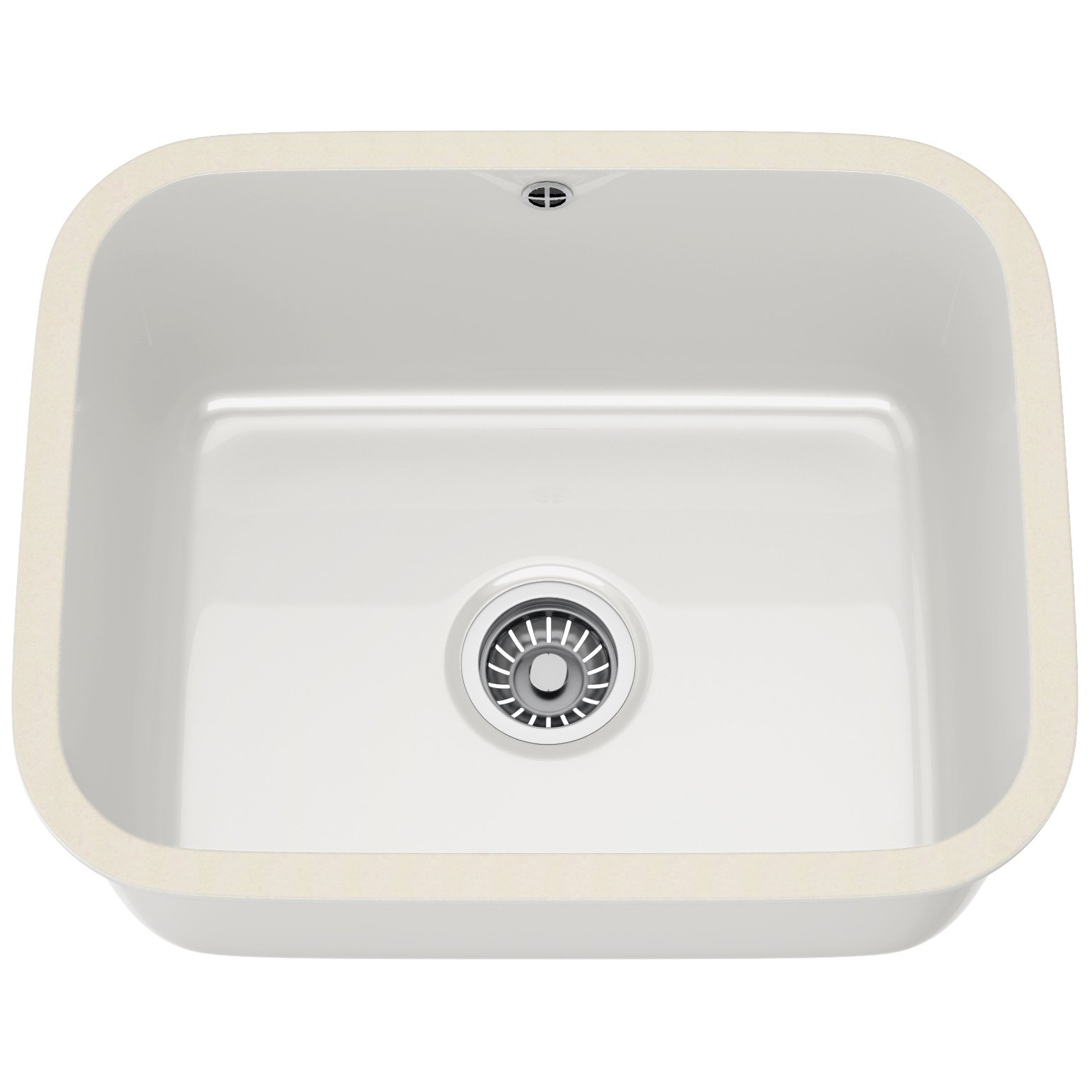 White Kitchen Sink Undermount Vbk 110 50 Ceramic 10 Bowl White Undermount Sink