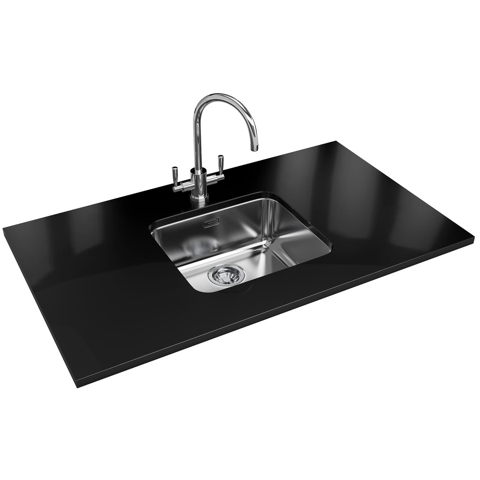 Franke Largo Lax 110 45 Designer Pack Stainless Steel Sink