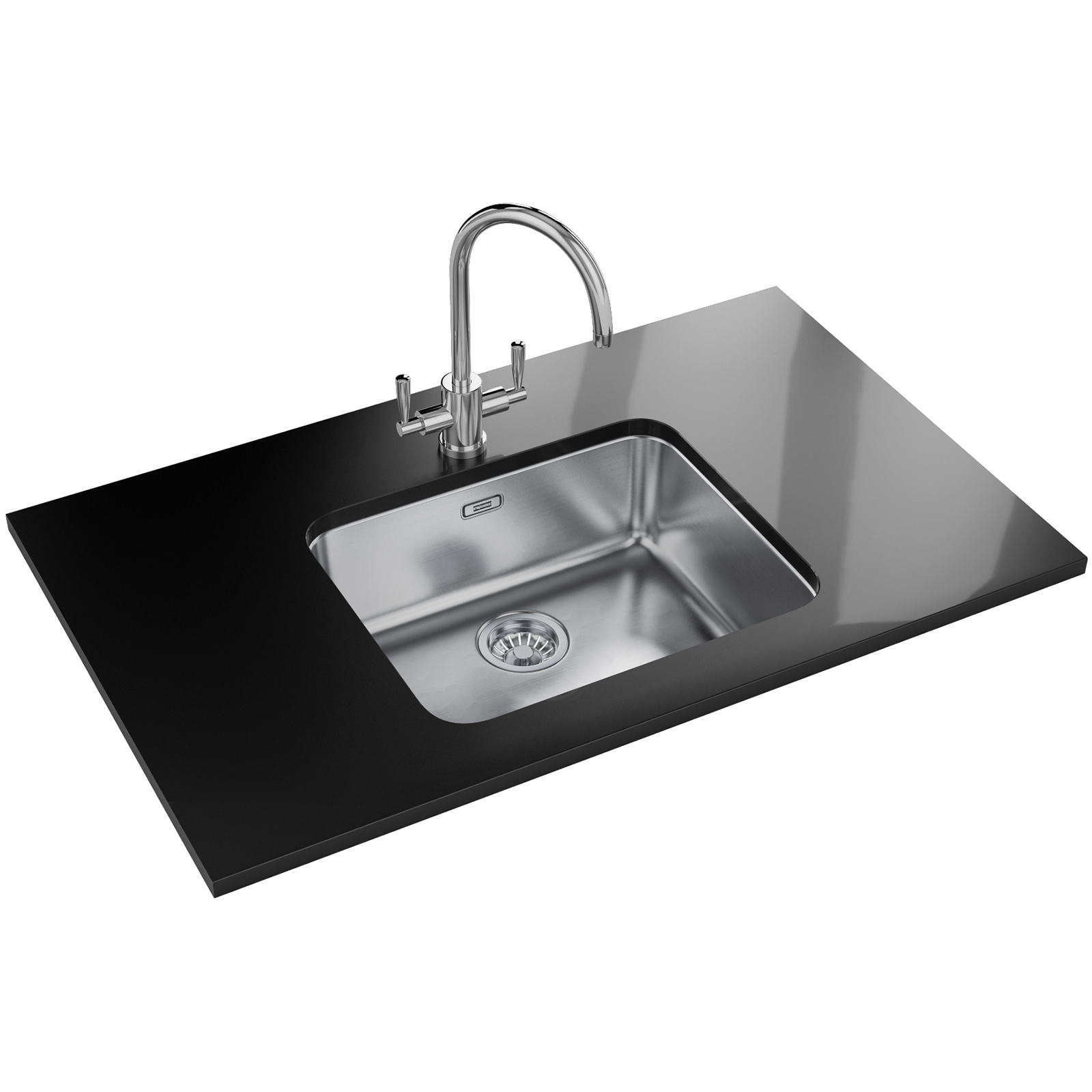 Franke Largo Lax 110 50 41 Dp Stainless Steel Sink And Tap