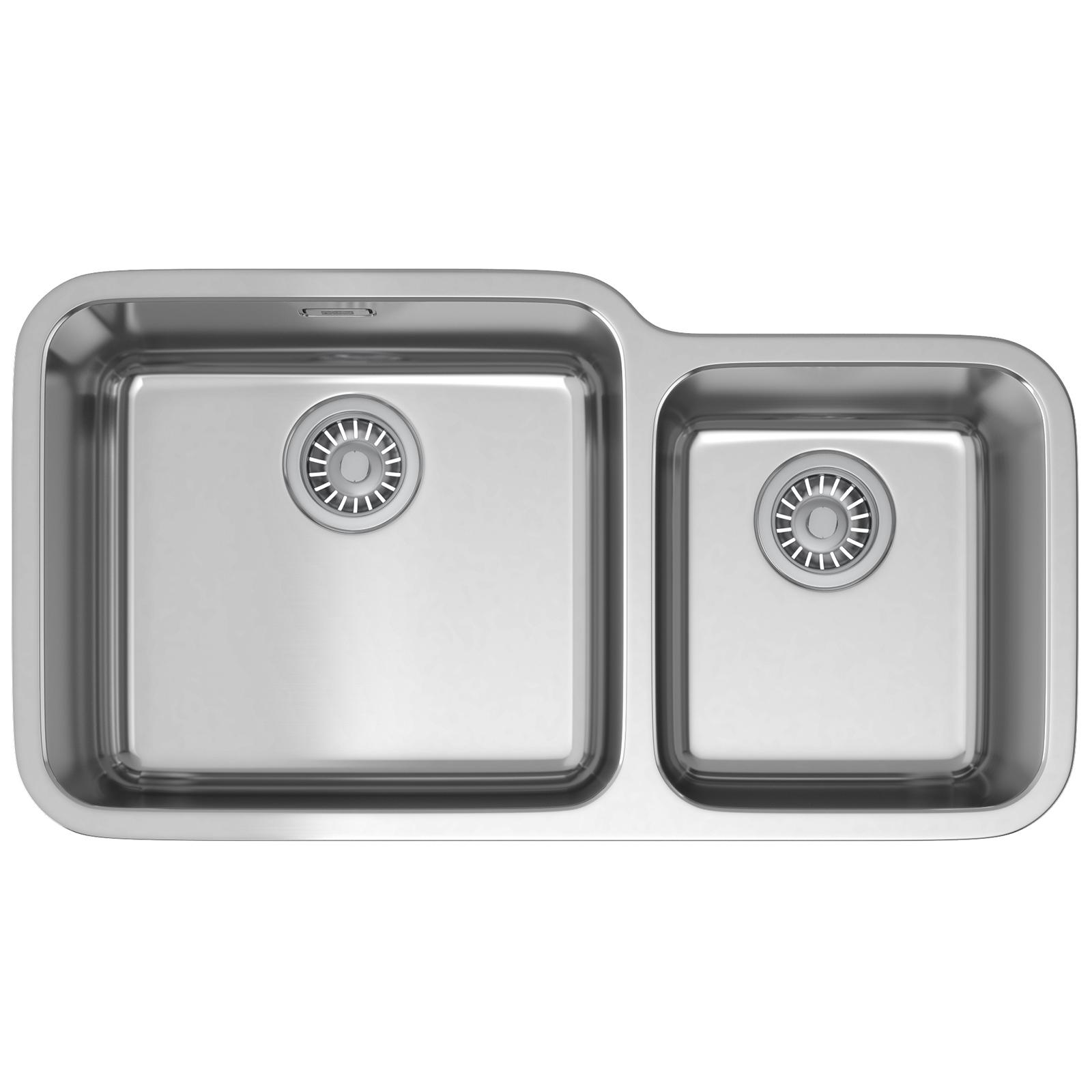 Franke Largo Sink : Franke Largo LAX 120 45-30 Stainless Steel 1.5 Bowl Undermount Sink
