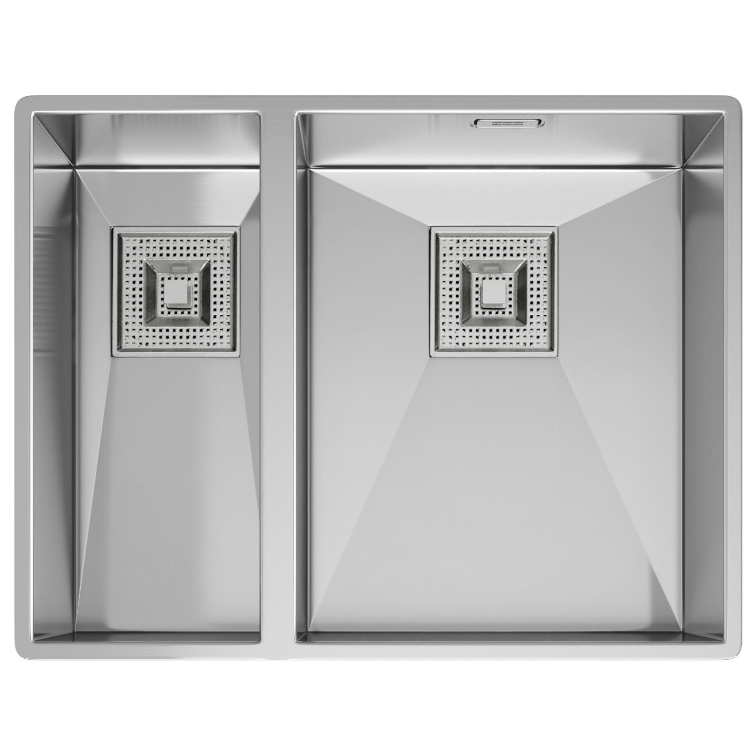 franke peak pkx 160 stainless steel 15 bowl undermount sink - Franke Sink