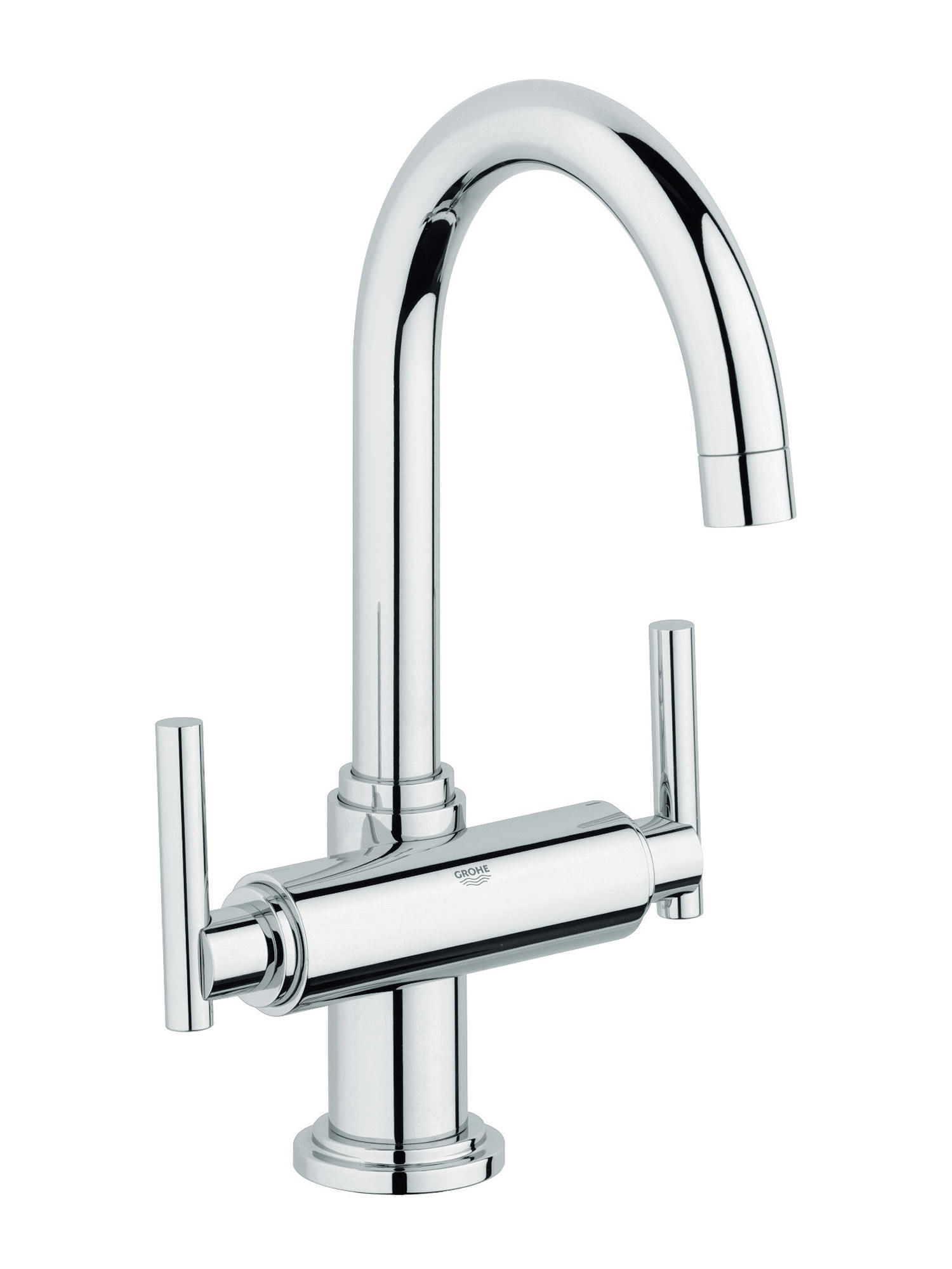 Grohe Atrio Jota Basin Mixer Tap With Pop Up Waste