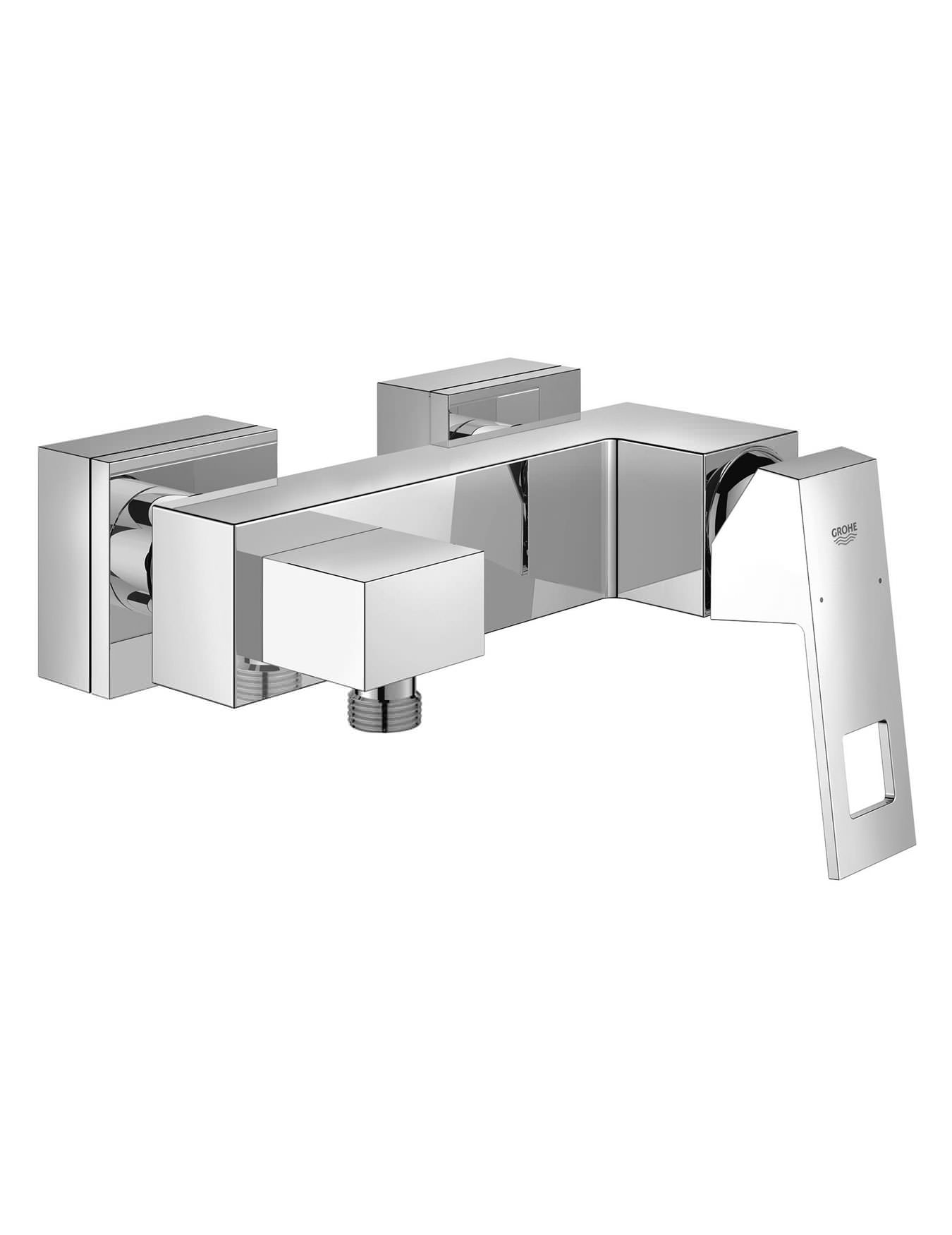 Captivating Grohe Eurocube Wall Mounted Exposed Single Lever Shower Mixer Valve