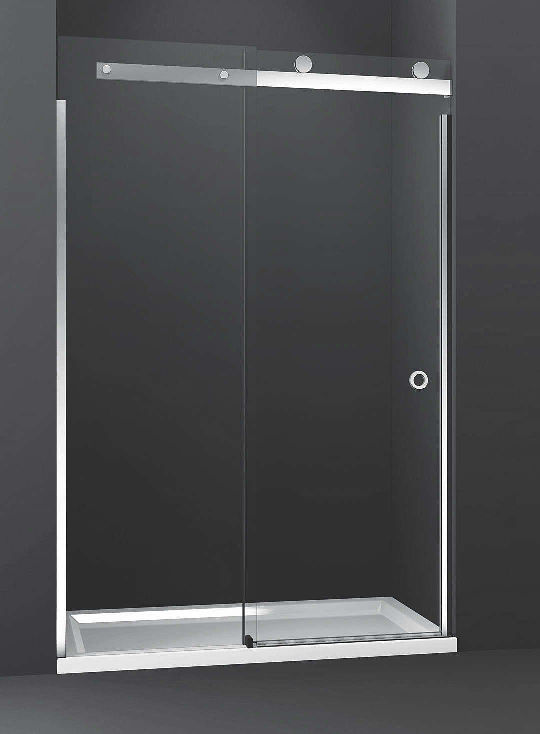 bath chrome shower and inch handle with doors showers depot home glass p halo canada roller big en door categories the clear frameless sliding