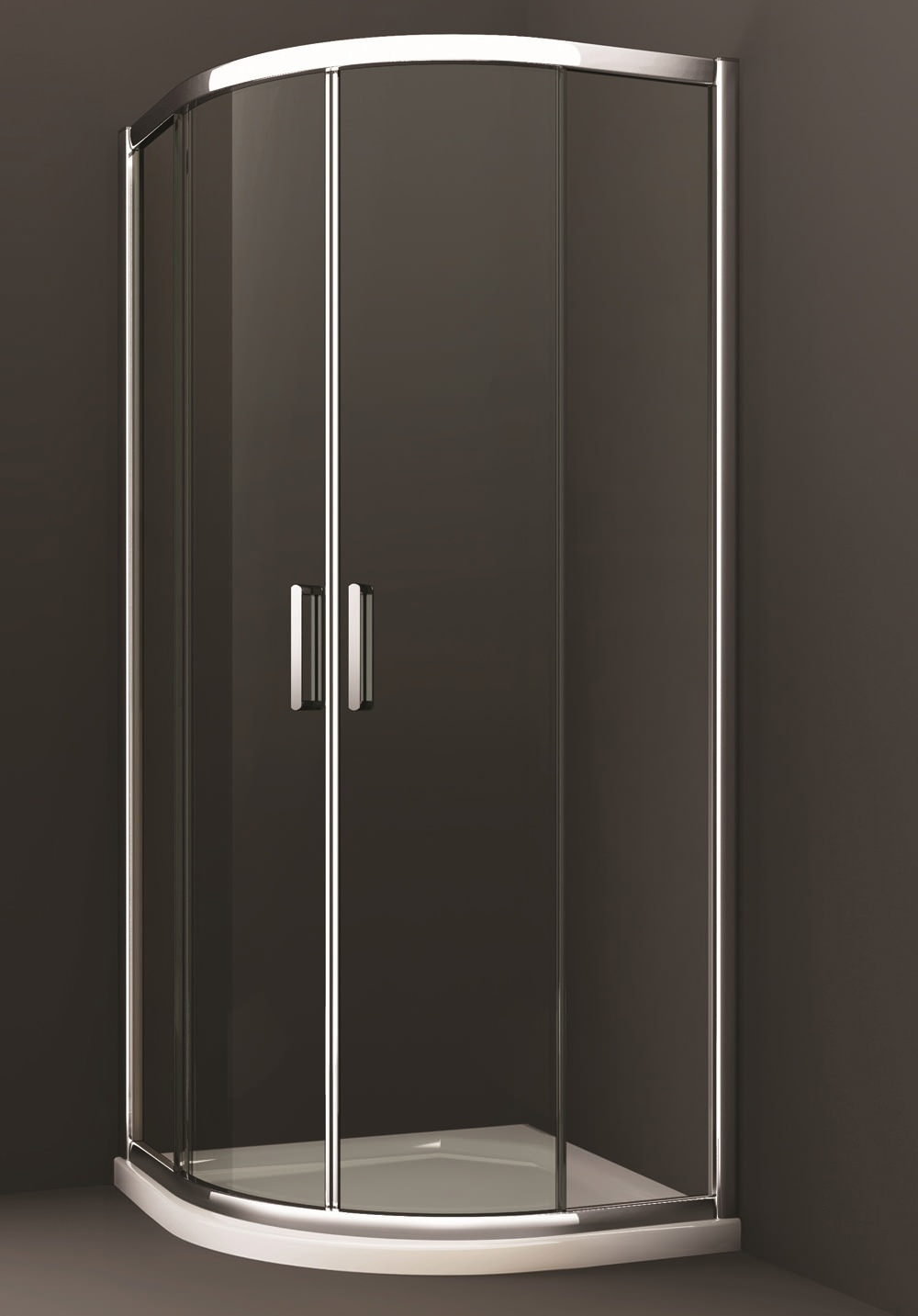 Merlyn 8 series 2 door quadrant shower enclosure 800 x 800mm for Door quadrant