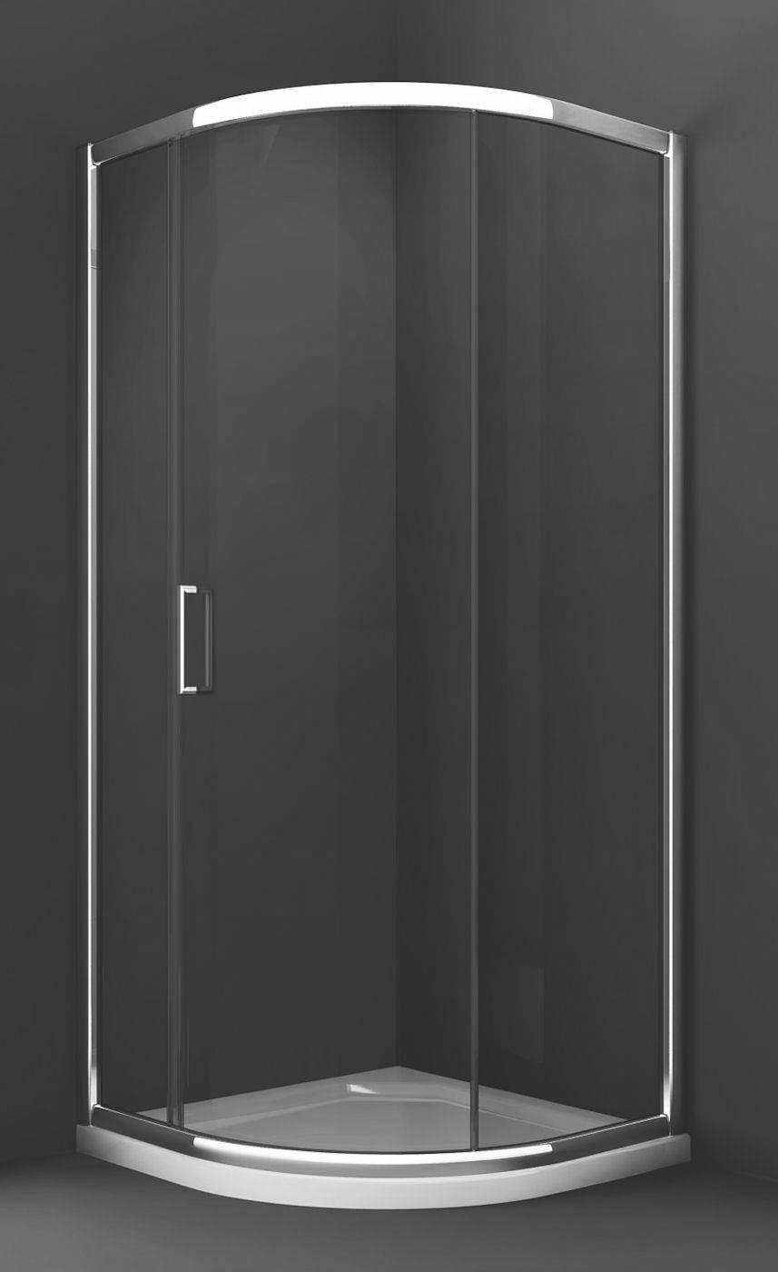Merlyn 8 series 800mm 2 door quadrant shower enclosure - Merlyn 8 Series 1 Door Quadrant Shower Enclosure 900 X 900mm