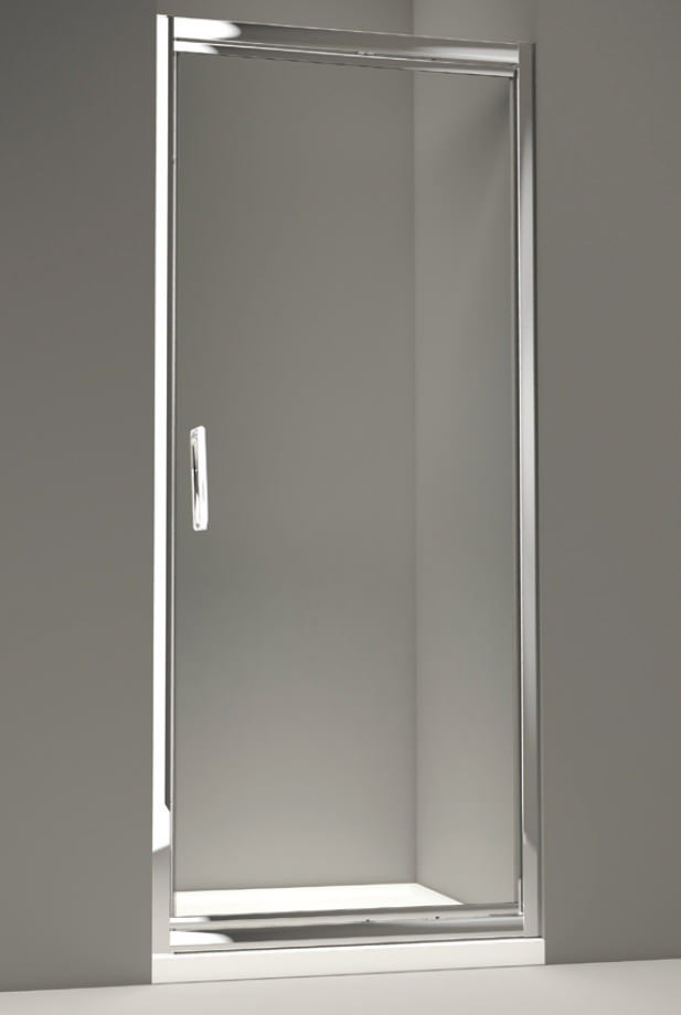 Merlyn 8 series infold shower door 900mm for 1800mm high shower door