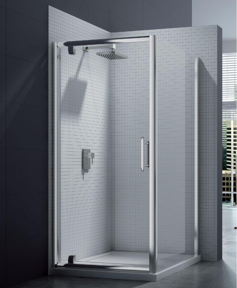 Merlyn 6 series pivot shower door 1000mm for 1000mm pivot shower door