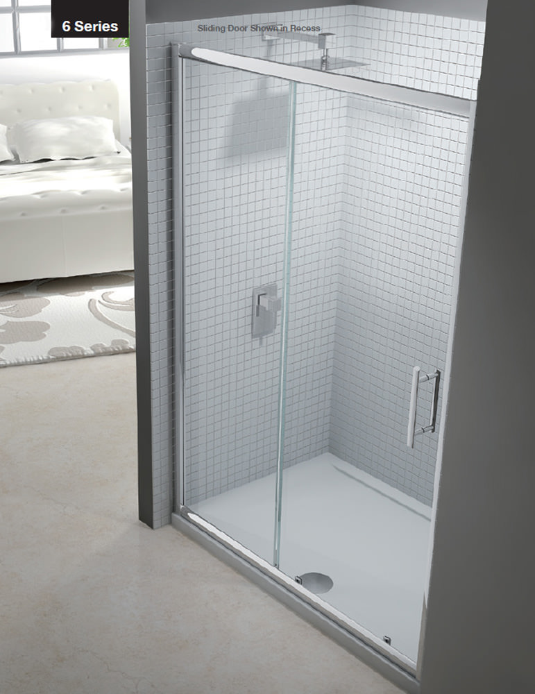 Merlyn 6 Series Sliding Shower Door 1000mm