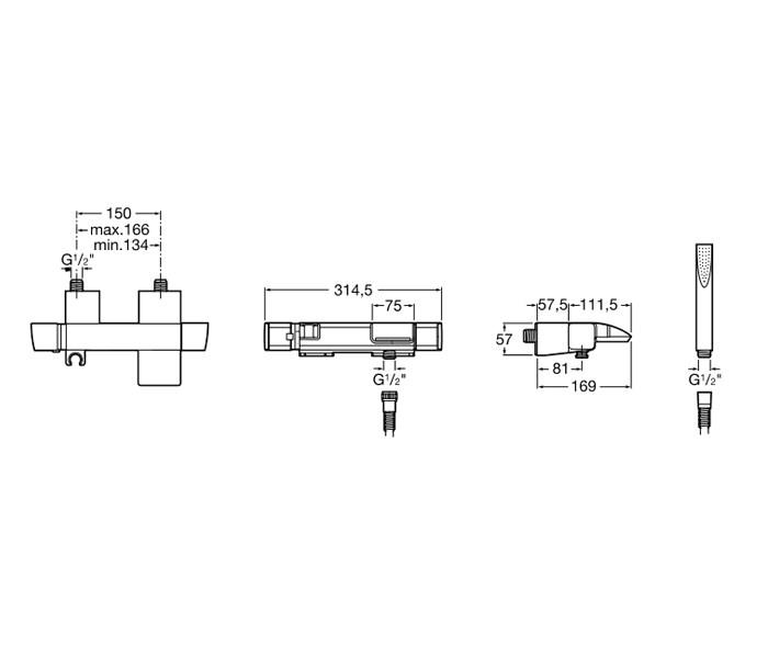 roca thesis shower mixer Plomberie, problème robinet mitigeur baignoire, plumbing, problem bathtub mixer tap - duration: 3:14 maison-constructioncom 229,679 views 3:14 roca box - installation on stud walls | roca - duration: 2:48 roca pro 1,168 views 2: 48 cosmo l2+lf shower screen - installation | roca - duration.