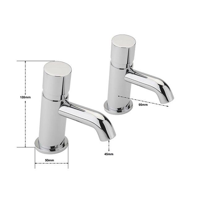 Non Concussive Kitchen Sink Taps