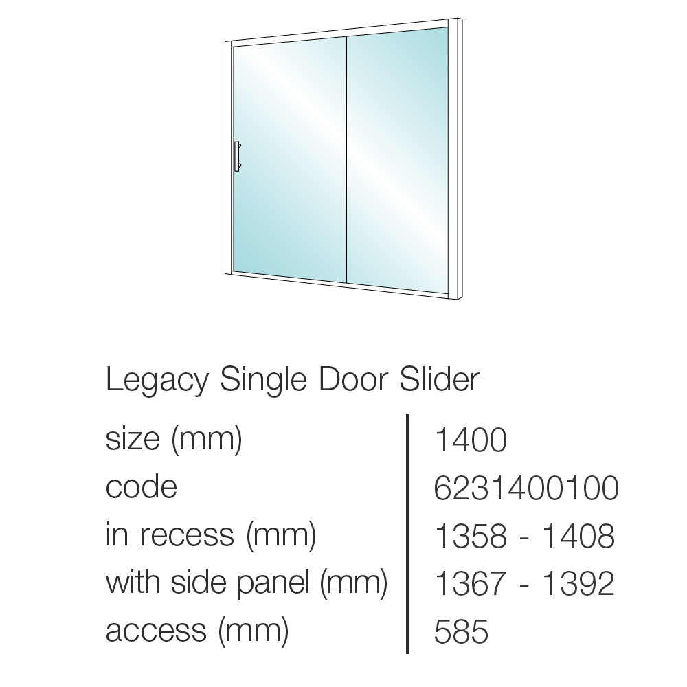 Merlyn 8 series sliding door amp inline panel - Image Number 42 Of Showerlux Sliding Doors Sc 1 St Pezcame Com