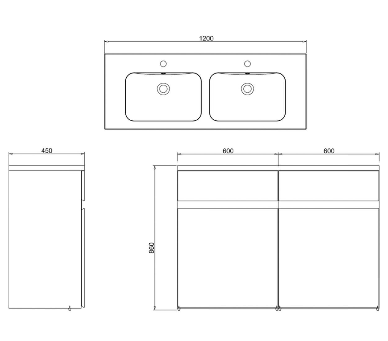 aqua cabinets d450 white double drawer units 2 bowl basin britton aqua cabinets d450 white double drawer units double bowl basin
